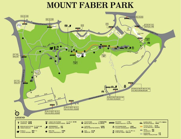 singapore hotels map with Mount Faber Park Map on Ambassador Transit Lounge furthermore  in addition Monterosso To Vernazza further Shopping besides Home.