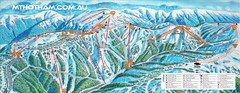 Mount Hotham Ski Trail Map