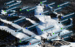 Mount Pakenham Ski Trail Map