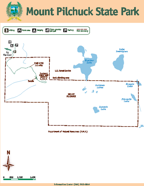 Mount Pilchuck State Park Map
