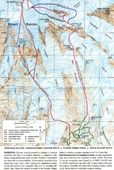 Mount Rainier Topo Map