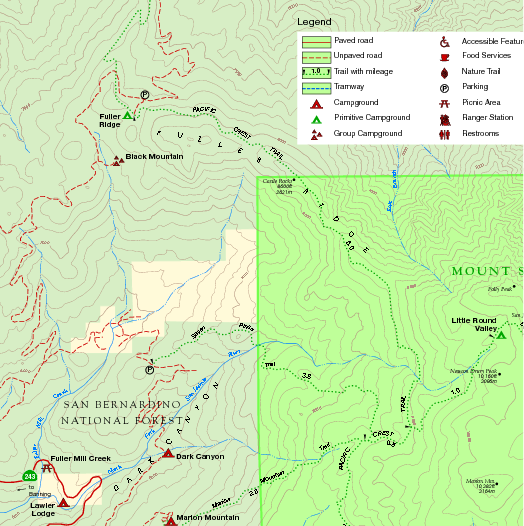 idyllwild trail map with Mount San Jacinto State Park Nw Map on Index further Jean Peak Via Fuller Ridge in addition Ernie Maxwell Scenic Trail Idyllwild further  further Hiking San Jacinto.