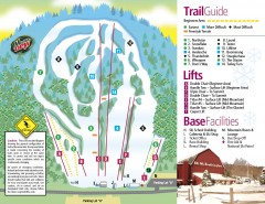 Mount Southington Ski Trail Map