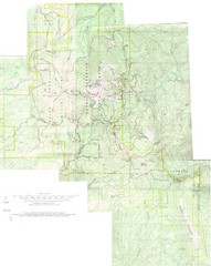 Mount Spokane Trail Map