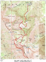 Mount Timpanogos Trail Map