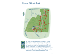 Mount Tolmie Park Map