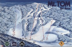 Mount Tom Ski Trail Map