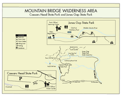 Mountain Bridge Wilderness Area Map