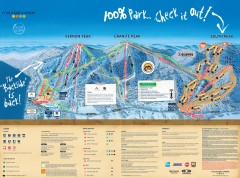 Mountain Creek Ski Trail Map