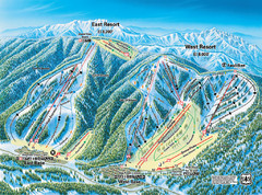 Mountain High Resort East & West Resorts Ski...