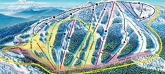 Mt. Ashland Ski Trail Map