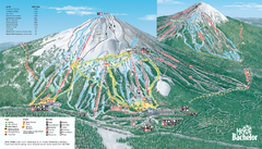 Mt. Bachelor Ski Trail map