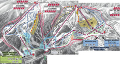 Mt. Baker Ski Area Ski Trail Map