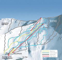 Mt. Cheeseman Ski Trail Map
