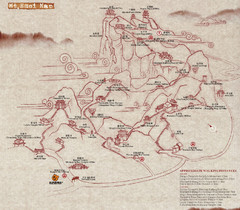 Mt Emei Hiking Map