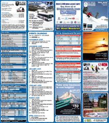 Mt. Hood Meadows Ski Resort Ski Trail Map