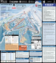 Mt. Hood Meadows Ski Trail Map