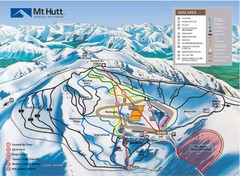 Mt. Hutt Ski Trail Map