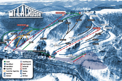 Mt. La Crosse Ski Trail Map