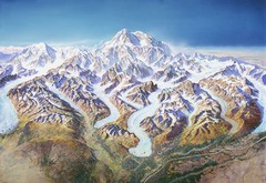 Mt. McKinley (Denali) Map