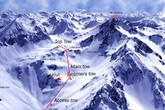Mt. Olympus Ski Trail Map