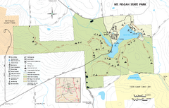 Mt. Pisgah State Park map