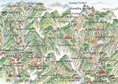 Mt. Qingching Tourist Map