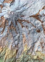 Mt. Rainier Climbing Routes Map