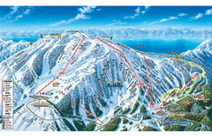 Mt. Rose Ski Tahoe Ski Trail Map