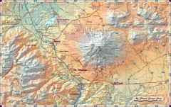 Mt. Shasta Scenic Area map