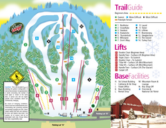 Mt. Southington Ski Area Ski Trail Map