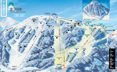 Mt. Spokane Ski Trail Map