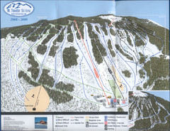 Mt Timothy Ski Trail Map