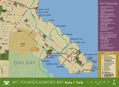 Mt. Tolmie & Cadboro Bay Map