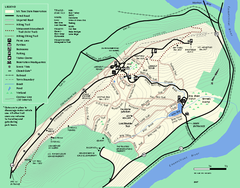 Mt. Tom State Reservation trail map