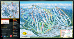 Mt. Washington Resort Ski Trail Map