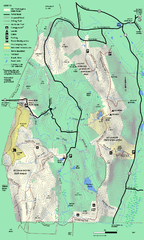 Mt. Washington State Forest trail map