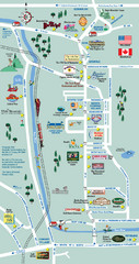 Mt. Washington Valley Restaurant Guide Map