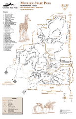 Mueller State Park Trail Map
