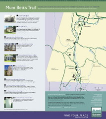 Mum Bett's Trail Map