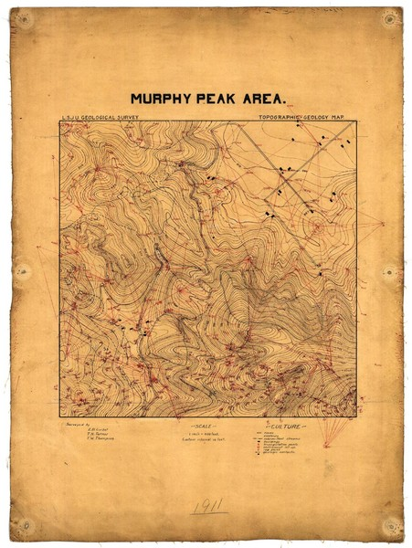 Murphy Peak Area Survey Map