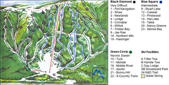 Murray Ridge Ski Trail Map