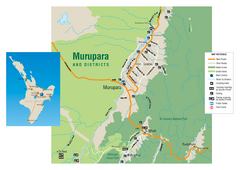 Murupara Map
