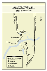 Musgrove Mill State Park Map