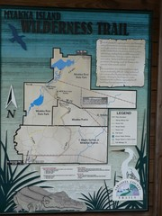 Myakka Island Trail Map