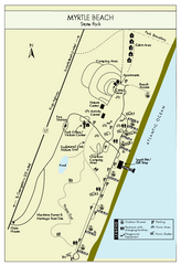 Myrtle Beach State Park Map