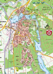 Mölln Map
