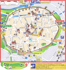 Nördlingen Tourist Map