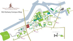 NUI Galway Campus Map