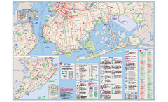 NYC Biking Route Map (Part of Queens, Brookyln...